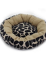 Dog Bed Pet Mats & Pads Soft Brown Nylon Cotton