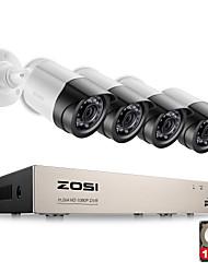 zosi® 4ch 1080P HDMI 4pcs di uscita video del sistema di sorveglianza p2p TVI dvr 2000tvl 2.0MP telecamera IP kit cctv 1TB HDD