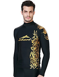 Sports Men's Wetsuit Top Breathable Thermal / Warm Quick Dry Neoprene Diving Suit Long Sleeve Tops-Diving Spring Summer Classic