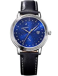 YAZOLE Masculino Relógio Elegante Relógio de Moda Relógio Casual Relógio de Pulso Chinês Quartzo PU Banda Legal Casual Criativo Preta