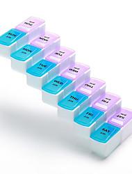 Travel Travel Pill Box/Case Travel Medicine Box/Case Travel Storage Travel Drink & Eat WareMoistureproof/Moisture Permeability Waterproof