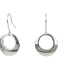 Dangle Earrings Non Stone Alloy Circle Euramerican Fashion Round Jewelry Daily Casual 1 pair