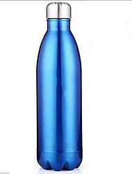 Colori Exterior Artigos para Bebida, 500 ml Portátil Aço Inoxidável Cerveja Garrafas de Água