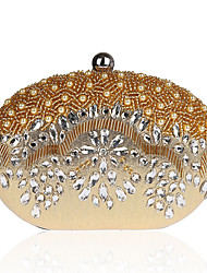 L.west Women's fashion diamond dinner banquet hand bag