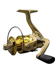 Molinetes de Pesca Molinetes Rotativos 5.1:1 10 Rolamentos Destro Pesca Geral-CF3000