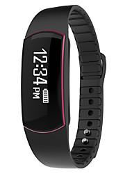 yysh07 pulseira inteligente moman dos homens / smarwatch / monitor de pulseira monitor de sm pulseira sono pedômetro IP67 impermeável para