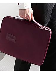 Bolsa de Viagem Portátil Organizadores para Viagem para Portátil Organizadores para ViagemVermelho Escuro