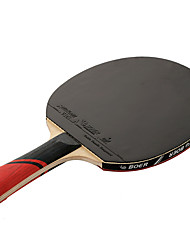 3 Stars Table Tennis Rackets Ping Pang Rubber Long Handle Pimples 1 Racket 1 Table Tennis Bag Outdoor Performance Practise Leisure Sports-