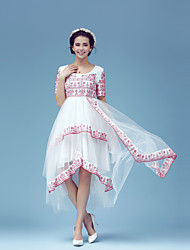 Turkey's wandering dream fine linen embroidery multilayer net yarn stitching princess dress