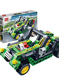 Children 's Puzzle Assembled Building Blocks Toys Hi - Tech Pull Back Car Racing Model 6962