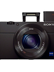 SONY® DSC-RX100 M4 Digital Camera 4K NFC Built-in Flash WiFi Tiltable LCD Black 3.0