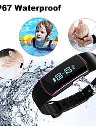 relógio inteligente - sodial (r) Bluetooth 4.0 inteligente relógio rastreador de fitness bracelete pulseira de saúde desporto sono