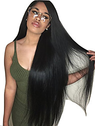 Silk Base Wig Natural Silky Straight Lace Front Human Hair Wigs 5*4Inch Silk Top Lace Front Wigs 150% Density Lace Wigs with Baby Hair for Women