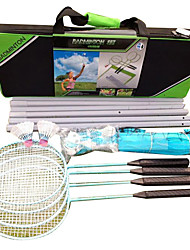 Federballnetz Badmintonschläger Badminton Beiträge und Net 55.0*20.0*15.0 Hochelastisch Dauerhaft für Draußen Legere Sport Kohlefaser