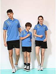 Conjuntos de Roupas/Ternos(Amarelo Vermelho Azul Laranja) -Unissexo-Secagem Rápida Confortável-Badminton