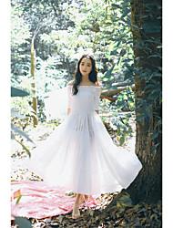 identificar primavera real Plano e no verão vestido novo coreano