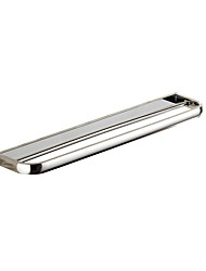 simple design brass chrome wall-mounted bathroom fittings double towel rack towel shelf