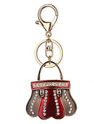 Key Chain Key Chain Red Metal