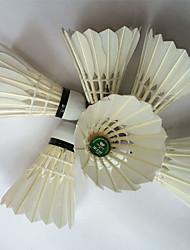 12pcs Badminton Volants à Plumes Etanche Durable Stabilité pour Plume de canard