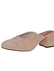 Women's Flats Summer Comfort Fabric Casual Low Heel Walking