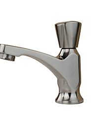 Contemporary Antique Art Deco/Retro Standard Spout Vessel Rain Shower Widespread with  Ceramic Valve Single Handle One Hole for