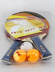 3 Estrellas Tabla raquetas de tenis Ping Pang Madera Las espinillas Interior Rendimiento-Other