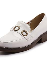 Heels Spring Summer Fall Winter Club Shoes PU Office & Career Dress Casual Low Heel