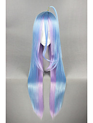 Long Straight NO GAME NO LIFE- Color Mixed 40inch Anime Cosplay Wig CS-185C