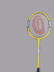 Badminton Rackets Wateproof Wearproof Durable Stability Ferroalloy One Pair × 2 for