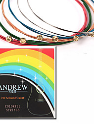 Professional String High Class Guitar Acoustic Guitar New Instrument Metal Musical Instrument Accessories Red Green Blue Silver Gold