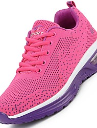Women Sport Shoes Spring Summer Fall Light Soles Tulle Outdoor Athletic Flat Heel Fitness & Cross Training