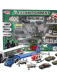 Dibang - Les véhicules de génie jouet en alliage de voiture pour enfants creuser modèle de voiture machine de jouet (x6)