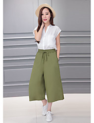 Sign seventh straight jeans casual pants waist wild loose wide leg pants new female
