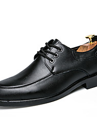 Men's Oxfords Spring Summer Formal Shoes Comfort Bullock shoes PU Wedding Office & Career Party & Evening Casual Flat Heel Gore