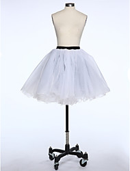 Slips Ball Gown Slip Short-Length 6 Taffeta Tulle White Black Red