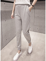 Sign pants Wei pants female casual sports pants loose trousers spring and autumn student cuffs nine feet harem pants