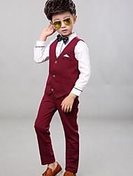 Boys' Casual/Daily Polka Dot Sets,Cotton Polyester Spring Fall Clothing Set