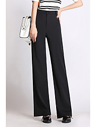 Sign Tang Yan with new models in spring and autumn casual straight high waist wide leg pants wide-leg trousers woman mopping the floor