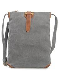 MUCHUAN 14 Inch Computer Shoulder Bag Canvas Travel Backpack