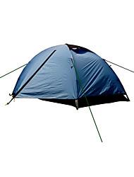 2 человека Световой тент Двойная Палатка Туристические палатки Влагонепроницаемый Хорошая вентиляция Скорость Водонепроницаемость