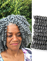 American Fashion Women HairStyle 20Curlkalon Ombre Kanekalon Curly Braiding Curlkalon Crochet SANIYA CURLS 20roots/pack 5packs make head