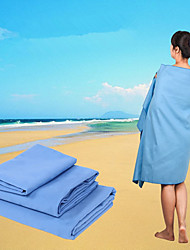 1Pcs  80*140Cm Microfiber Beach Towel Fast Drying Adult Travel Sports Swiming Camp Hiking Bath Towels Body Yoga Mat Beach Capes