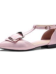 Sandales femme étui t-strap confort cuir boucle décontractée boucle décontractée