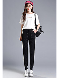 Sign a Korean foreign flavor ultra-white bumper harem pants casual pants female pantyhose wild child tide
