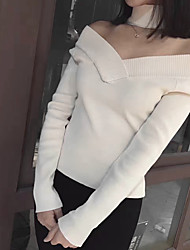 2017 Korean version of spring and summer new bottoming around two wear sexy strapless Slim thin knit tops women tide