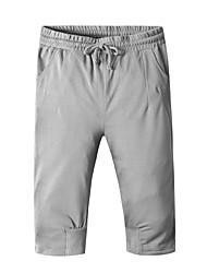 Men's Spring Summer Pure Color Leisure Sports Shorts