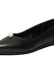 Women's Shoes Flat Heel Pointed toe Pearls Flats More Color Available