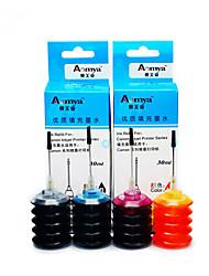 hp 802 de tinta de recarga de tinta 10001050 um pacote de 4 caixas, cada caixa cores diferentes, preto, azul, vermelho, amarelo