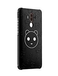 Pour Antichoc Dépoli Relief Motif Coque Coque Arrière Coque Dessin Animé Flexible Silicone pour HuaweiHuawei Honor 6X Huawei Mate 9