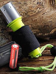 Détails environ 1600 Lumen CREE XM-L T6 LED étanche plongée lampe de poche + 2 x 18650 Batteries + Chargeur